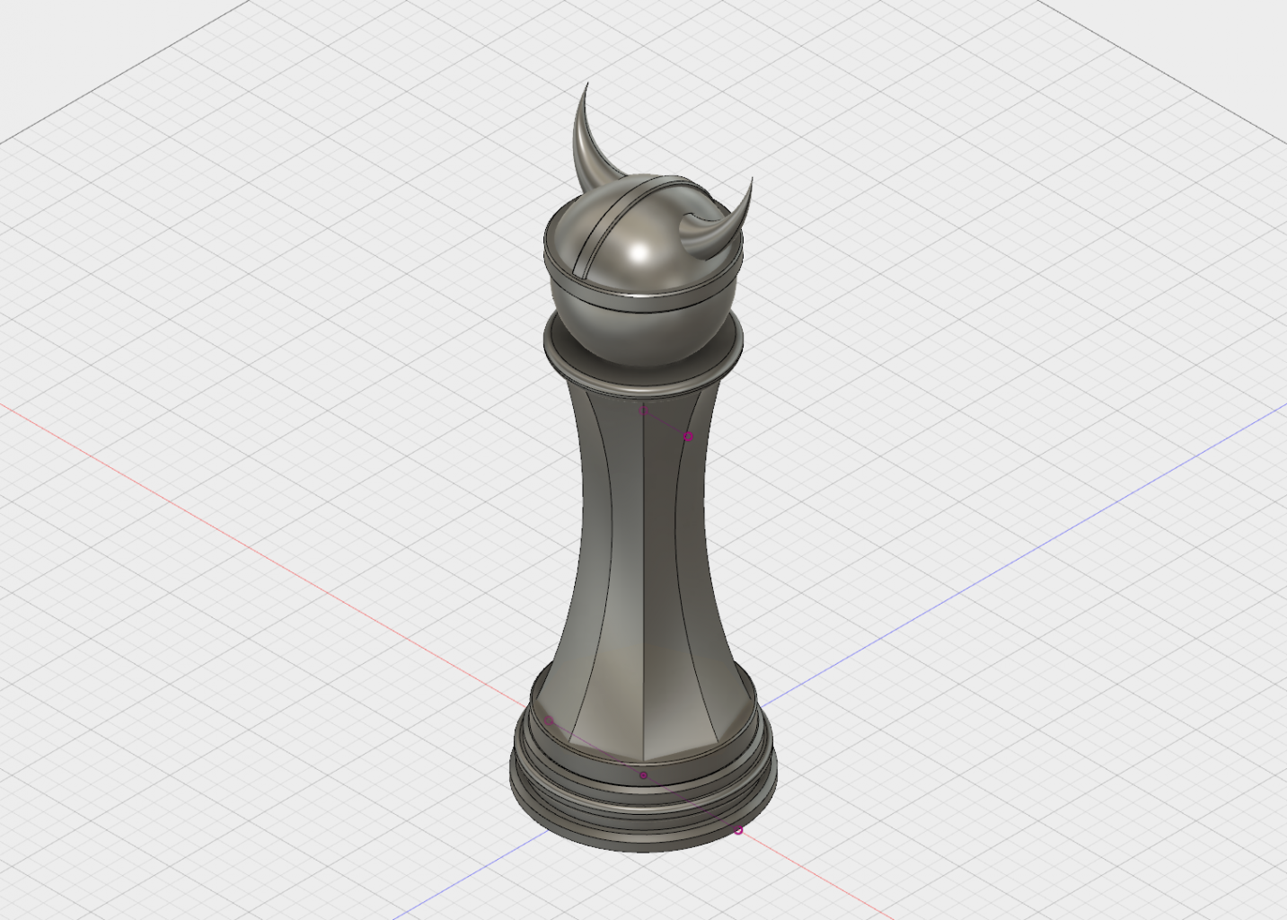 3D model of the Pawn